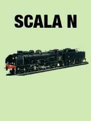 thumbLOCOMOTIVA A VAPORE PACIFIC 231 SNCF SCALA N