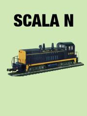 thumbLOCOMOTORE DIESEL SW1500 SCALA N